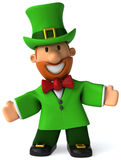 Irish leprechaun Stock Photo