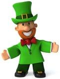 Irish leprechaun. Fun Irish leprechaun, 3d generated Stock Photo