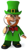 Irish leprechaun Stock Images