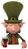 Irish leprechaun Royalty Free Stock Images