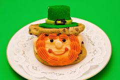 Irish Leprechaun Dessert Stock Photography