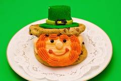 Irish Leprechaun Dessert Stock Photography
