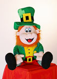 Irish Leprechaun. A soft toy Irish Leprechaun Royalty Free Stock Images