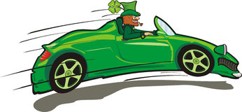Irish leprechaun - st. paddy`s day Royalty Free Stock Photos