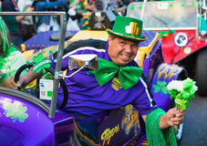 Irish Leprechaun  St. Patrick`s Day Parade Stock Photos