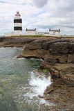 Irish lighthouse of Hook Head Stock Photography
