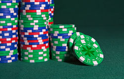 Irish Luck (gambling) Royalty Free Stock Photo