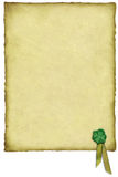 Irish Luck Parchment Stock Photos