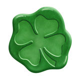 Irish Luck Wax Seal Stock Photography