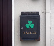 Irish Mailbox Royalty Free Stock Image
