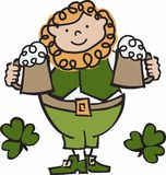 Irish Man Stock Photography