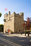 Irish medieval castle at Dalkey. Medieval castle at Dalkey, in Dublin Ireland. Built in the fifteenth century to store goods, the castle (also called The Goat royalty free stock photos