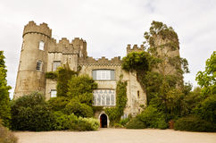 Irish medieval castle at Malahide in Dublin Royalty Free Stock Images
