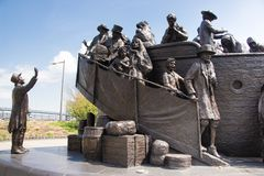 Free Irish  Memorial In Philadelphia To The Great Hunger Royalty Free Stock Photos - 147441438