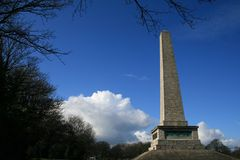 Irish monument. Phoenix Park, Dublin, Ireland royalty free stock photos