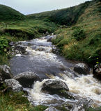 Irish mountain stream Stock Images