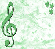 Irish Musical Banner Royalty Free Stock Photos