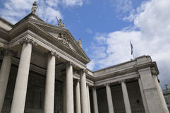 Irish national bank royalty free stock photography