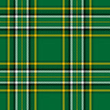 Irish National Tartan Stock Photography