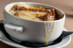 Irish onion soup Royalty Free Stock Images