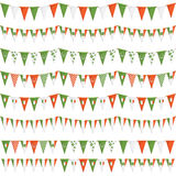 Irish party bunting Stock Images