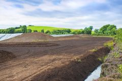 Irish peat bog landscape - Ireland - Europe.  royalty free stock photos