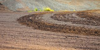 Irish peat bog landscape - Ireland - Europe.  stock photography
