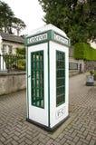 Irish phone box Stock Images