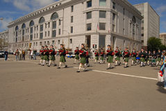Irish Pipers Band Royalty Free Stock Image