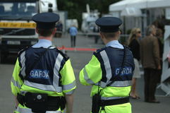 Irish Police Stock Photo