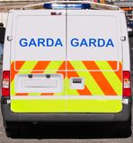 Irish police van Stock Photos