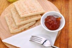 Irish potato bread Stock Images
