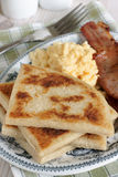 Irish Potato Farls Stock Image