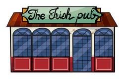 An Irish pub royalty free illustration