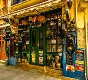 Irish Pub. At Rethimno Crete Greece Royalty Free Stock Photos