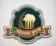 Irish pub signboard Stock Images