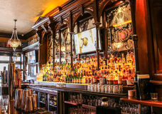 Irish pub. In Washington D.C., true Irish pub architecture and atmosphere Stock Image