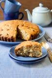 Irish raisin cake Royalty Free Stock Photo