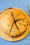 Irish raisin cake Stock Photo