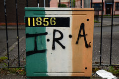 Irish Republican Army, Derry, Northern Ireland. Irish Republican Army in Derry, Northern Ireland stock photo