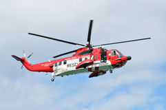 Irish rescue helicopters Royalty Free Stock Photography