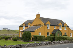 Irish restaurant and guest house. Country roadside Irish restaurant and guesthouse or bed and breakfast Stock Image