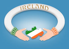 Irish Ring Royalty Free Stock Photo