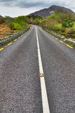 Irish road at mountains Royalty Free Stock Image