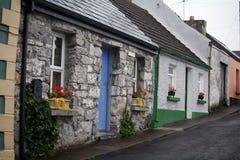 The Irish Roadside. Photograph taken of the streets of Ireland Stock Photography