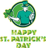 Irish Rugby St. Patrick's Day Royalty Free Stock Image