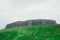 Irish Ruins, Aran Islands Royalty Free Stock Image