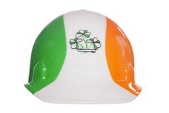 Irish safety hard hat Royalty Free Stock Image