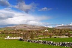 Irish scenery of Burren. In Co. Clare Royalty Free Stock Photos