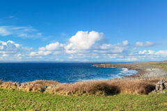 Irish scenery of Burren Royalty Free Stock Photo
